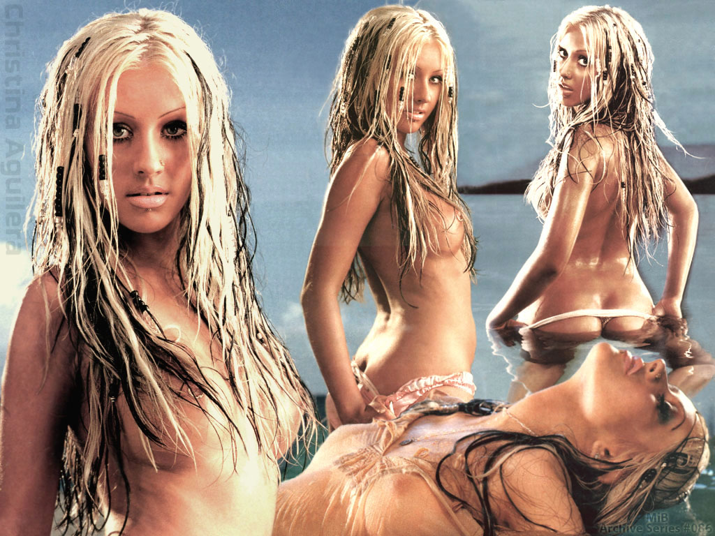 free naked images of christina aguilera