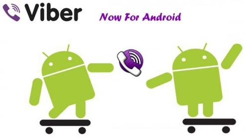 Viber For Android Mobiles