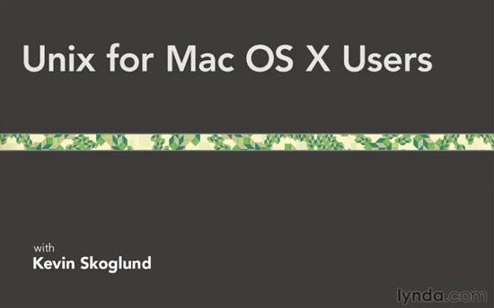 Lynda – Unix for Mac OS X Users