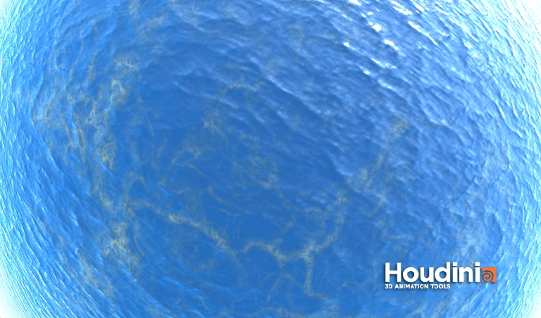 Houdini adventures uts test images for Fish eye effect
