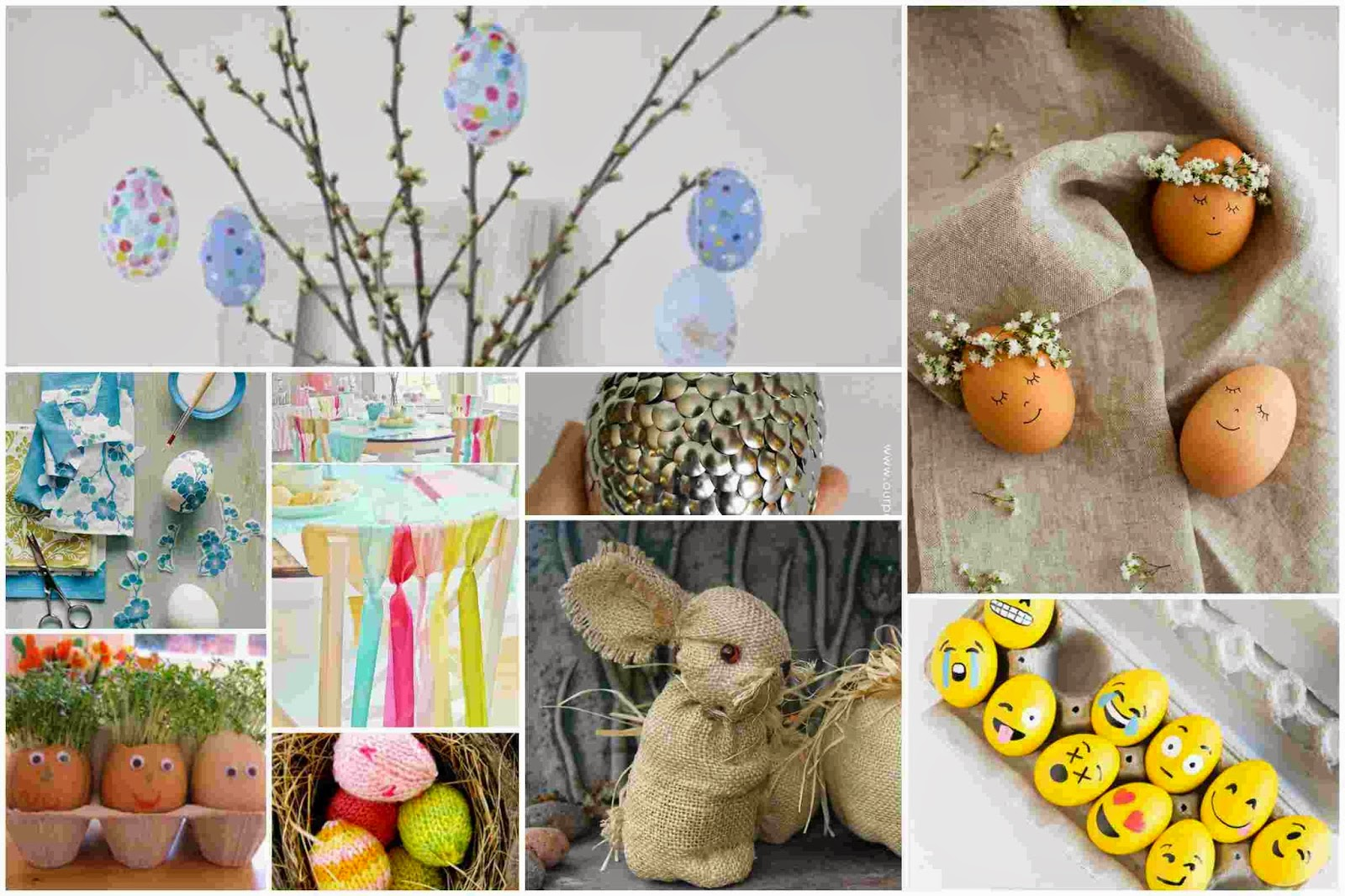 90 beautiful and easy easter decoration ideas diy fun for Home easter decorations