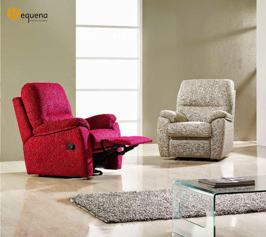 Muebles y tapizados requena la butaca pieza clave en las for Butacas habitacion matrimonio