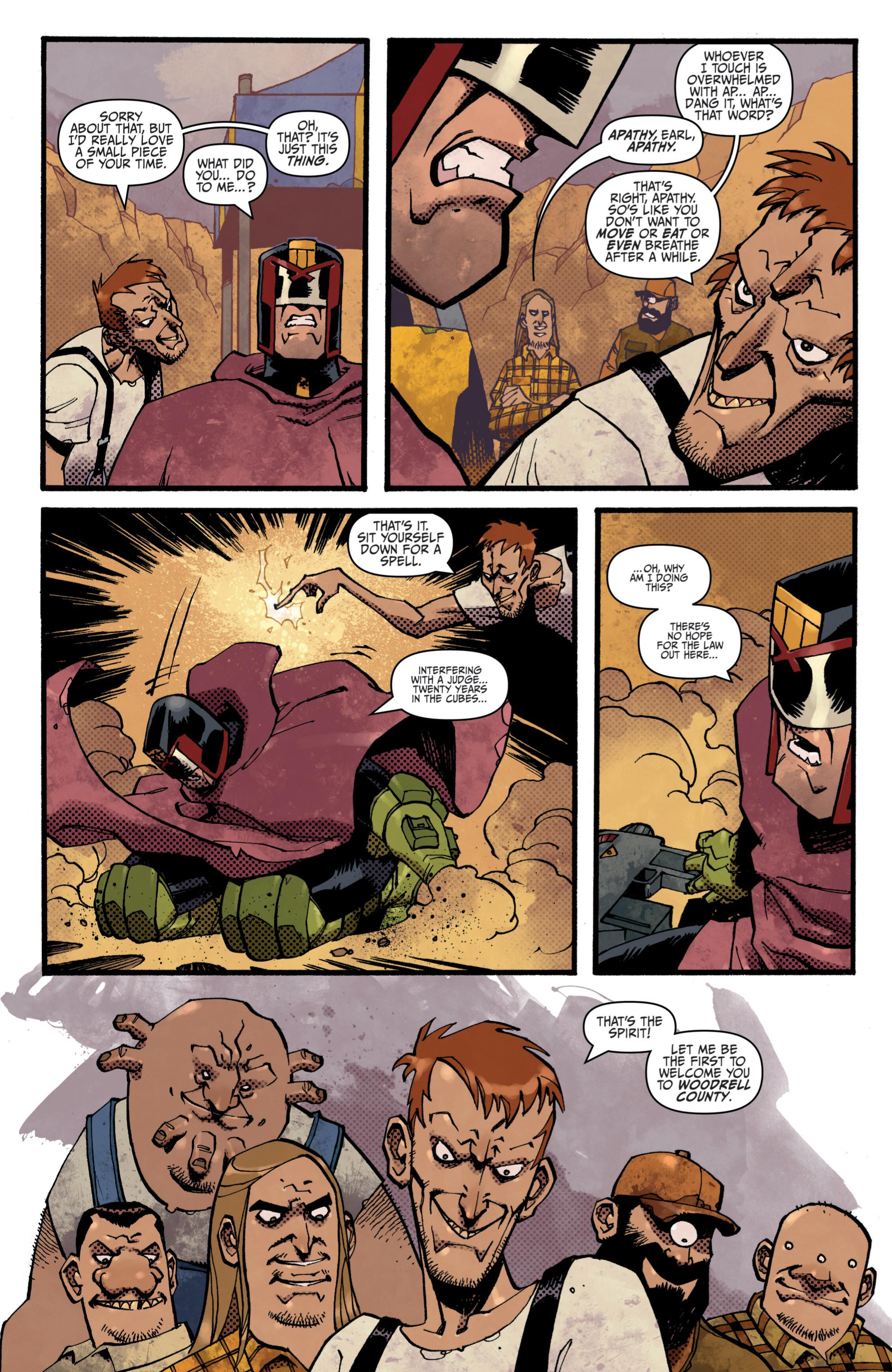 Read online Judge Dredd (2012) comic -  Issue # _TPB 3 - 12