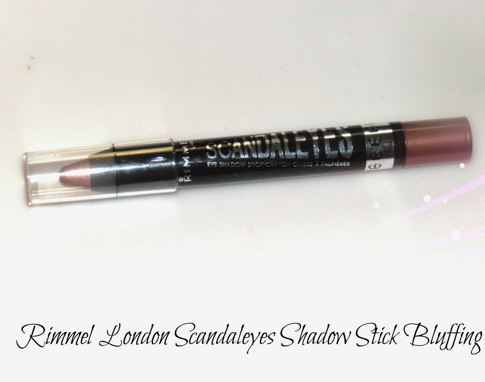 Rimmel London Scandaleyes Shadow Stick Bluffing Swatches