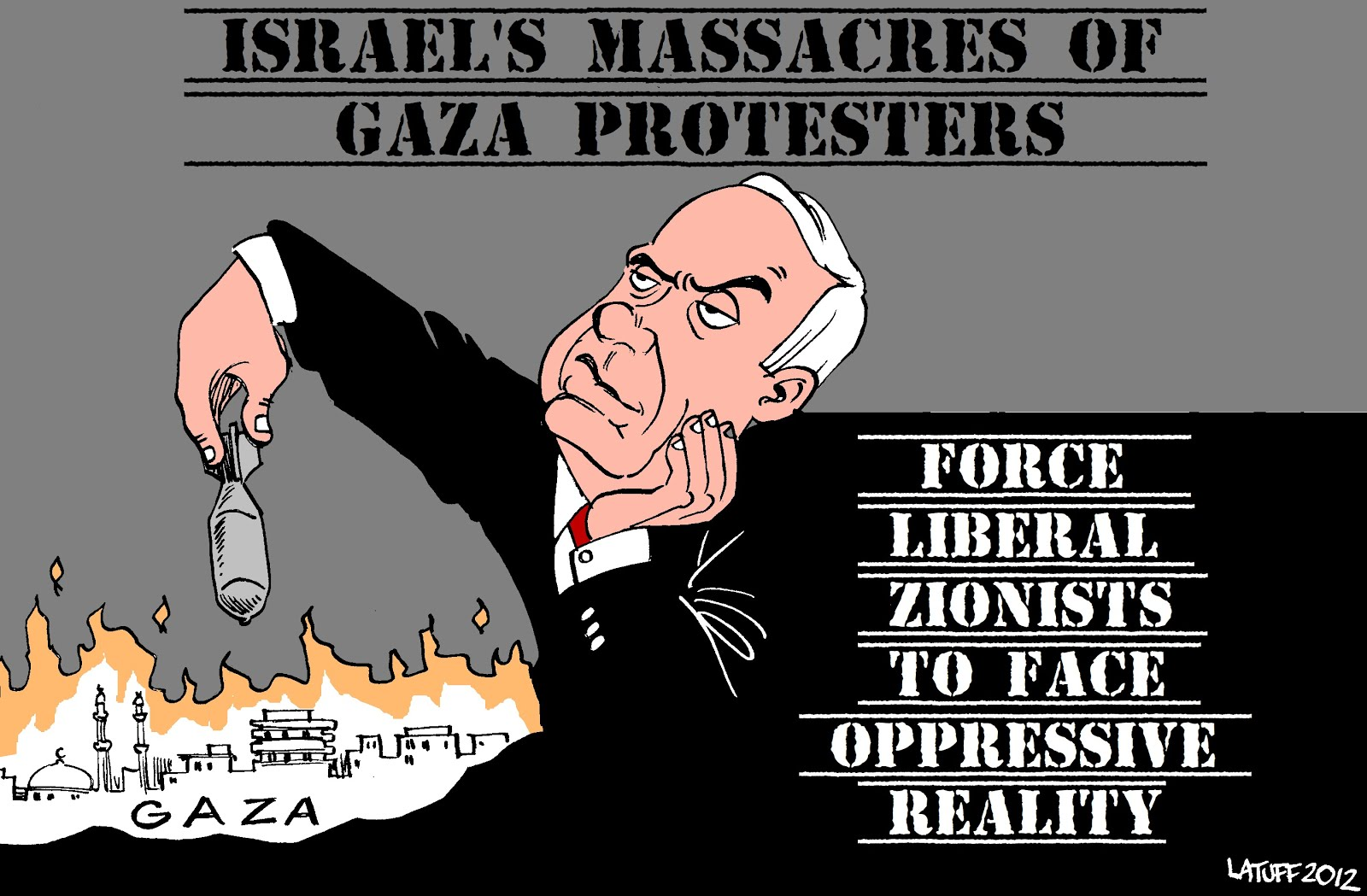Many Unable To  Ignore The Brutal Oppression of Palestinians