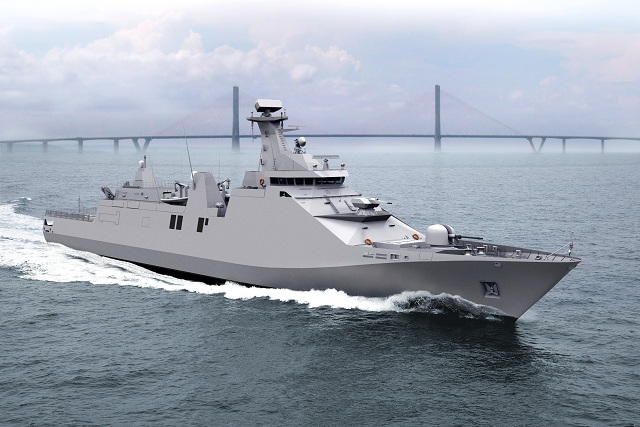 Modern Ship Design : A quot new maestrale frigate another case of lack