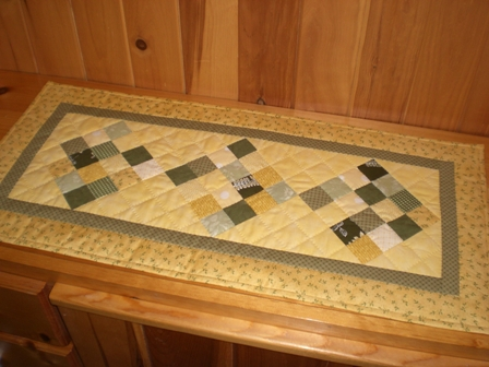 Table Runner Show And Tell