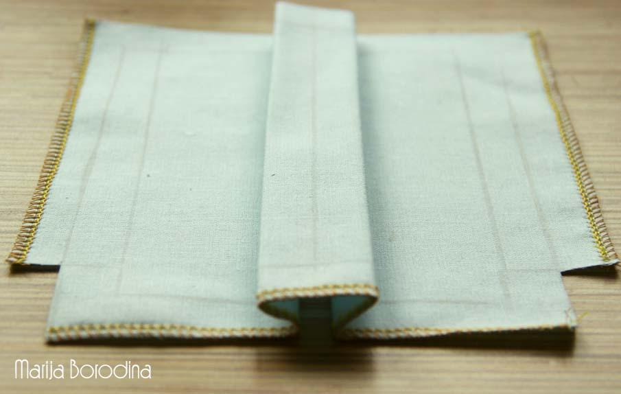 Как сшить объёмный карман 36