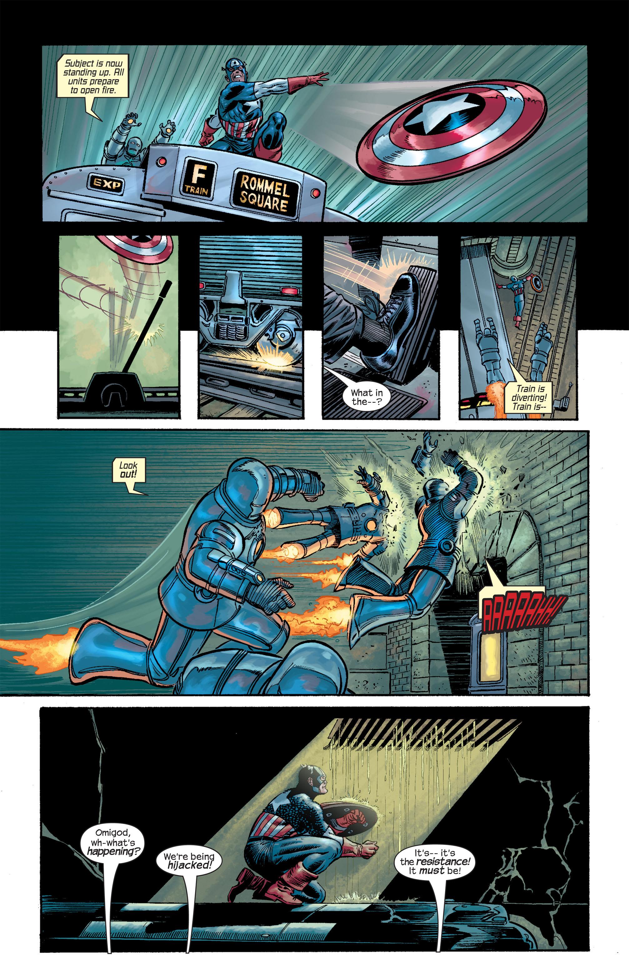 Captain America (2002) Issue #18 #19 - English 12