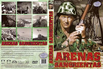 Arenas sangrientas | 1949 | Sands of Iwo Jima | Dvd Cover, Caratula