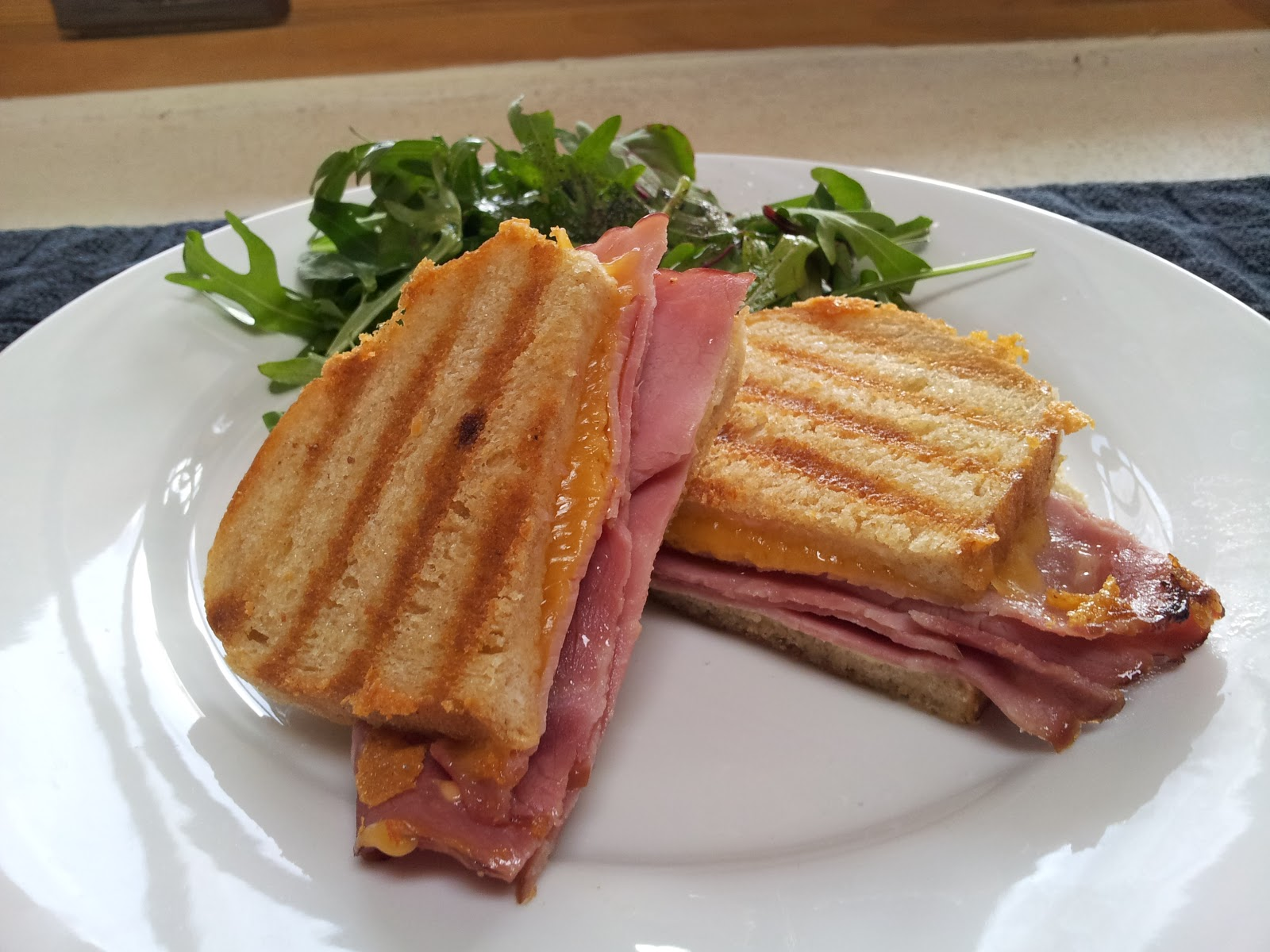 ... ham & cheese sandwich is good a grilled ham and cheese is even better