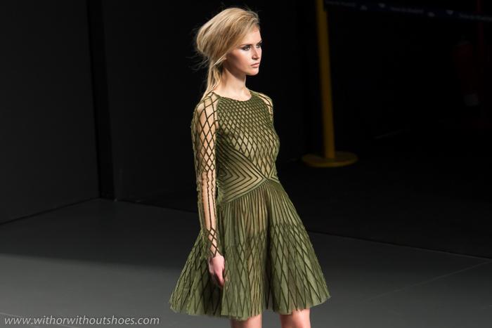 Desfile Teresa Helbig Fashion Week Madrid