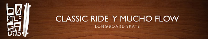60 POLEGADAS: Longboard skate - Classic Ride y Mucho Flow