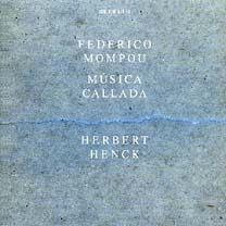 Musica Callada - Herbert Henck