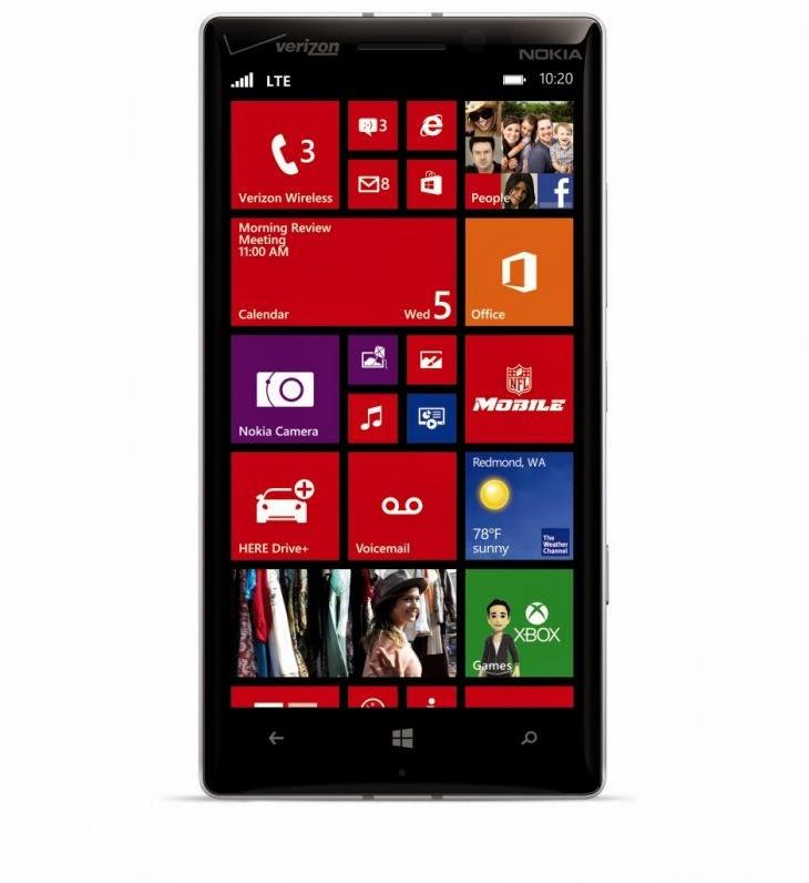 Nokia Lumia Icon front view