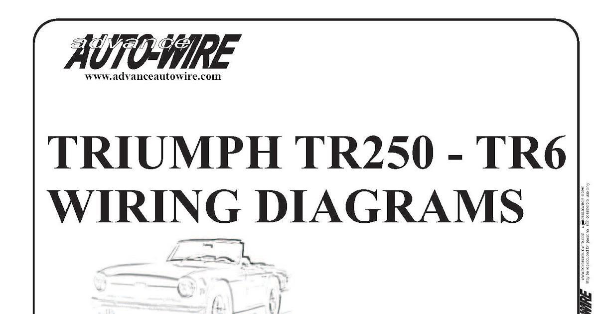 vitessesteve blog triumph tr tr wiring diagrams in colour