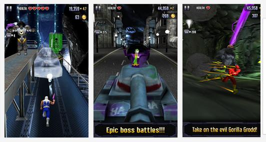 Batman and The Flash Hero Run v2.1.1 Apk + Mod