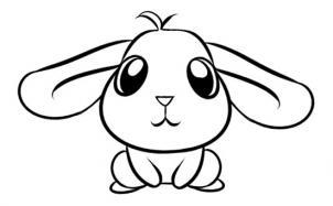 aprender como desenhar um coelho como desenhar 10