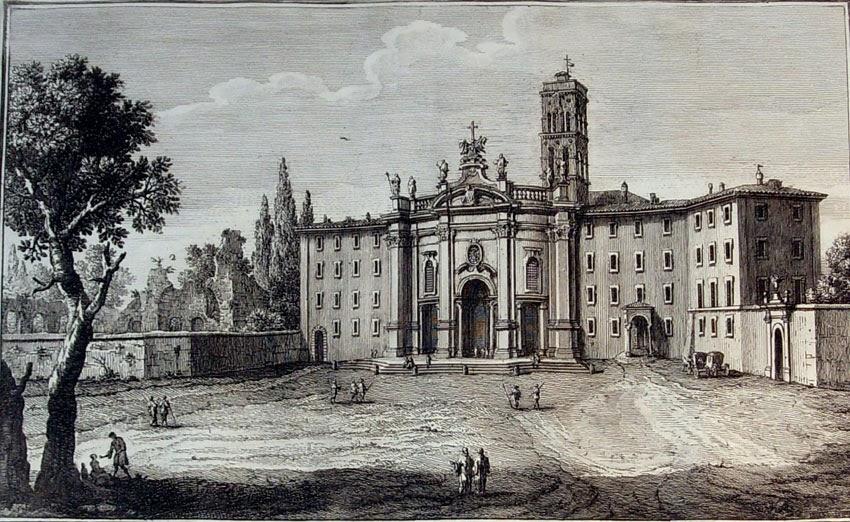 La Basilica di S Croce in Gerusalemme il palazzo del Sessorio e il giro delle sette chiese