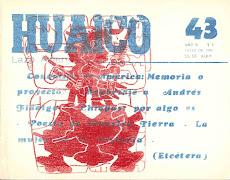 HUAICO 43 (revista libro). San Salvador de Jujuy. Julio 1994. 131 pp (17 x 22 cm)