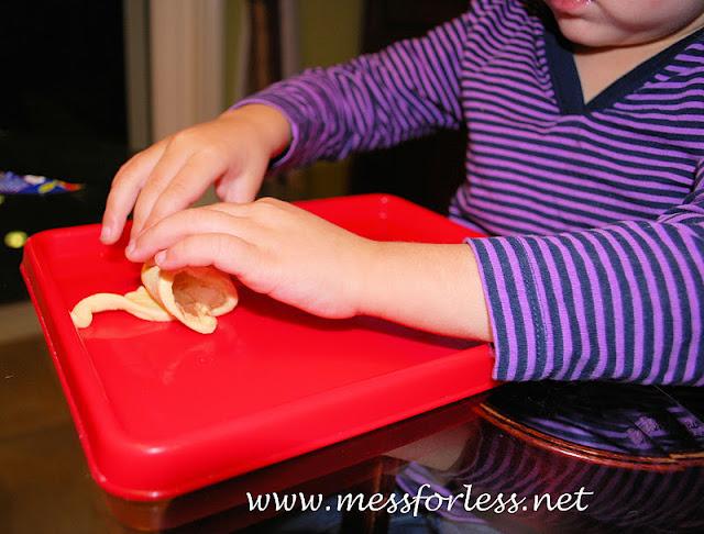 Kids in the kitchen, apple pie crescents