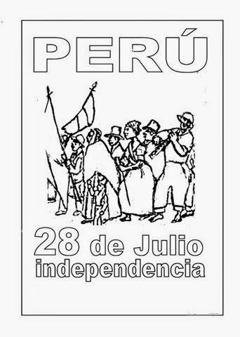 nabedin: Dibujos del 28 De Julio dia de la Independencia de Peru ...