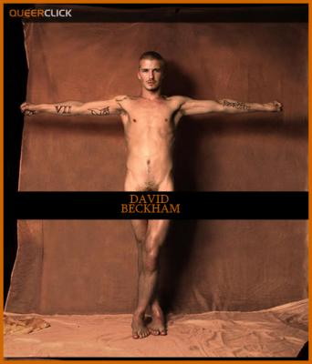 Images of fully nude david beckham