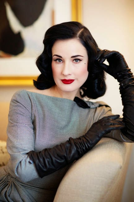 Dita Von Teese, Pale Celebrities