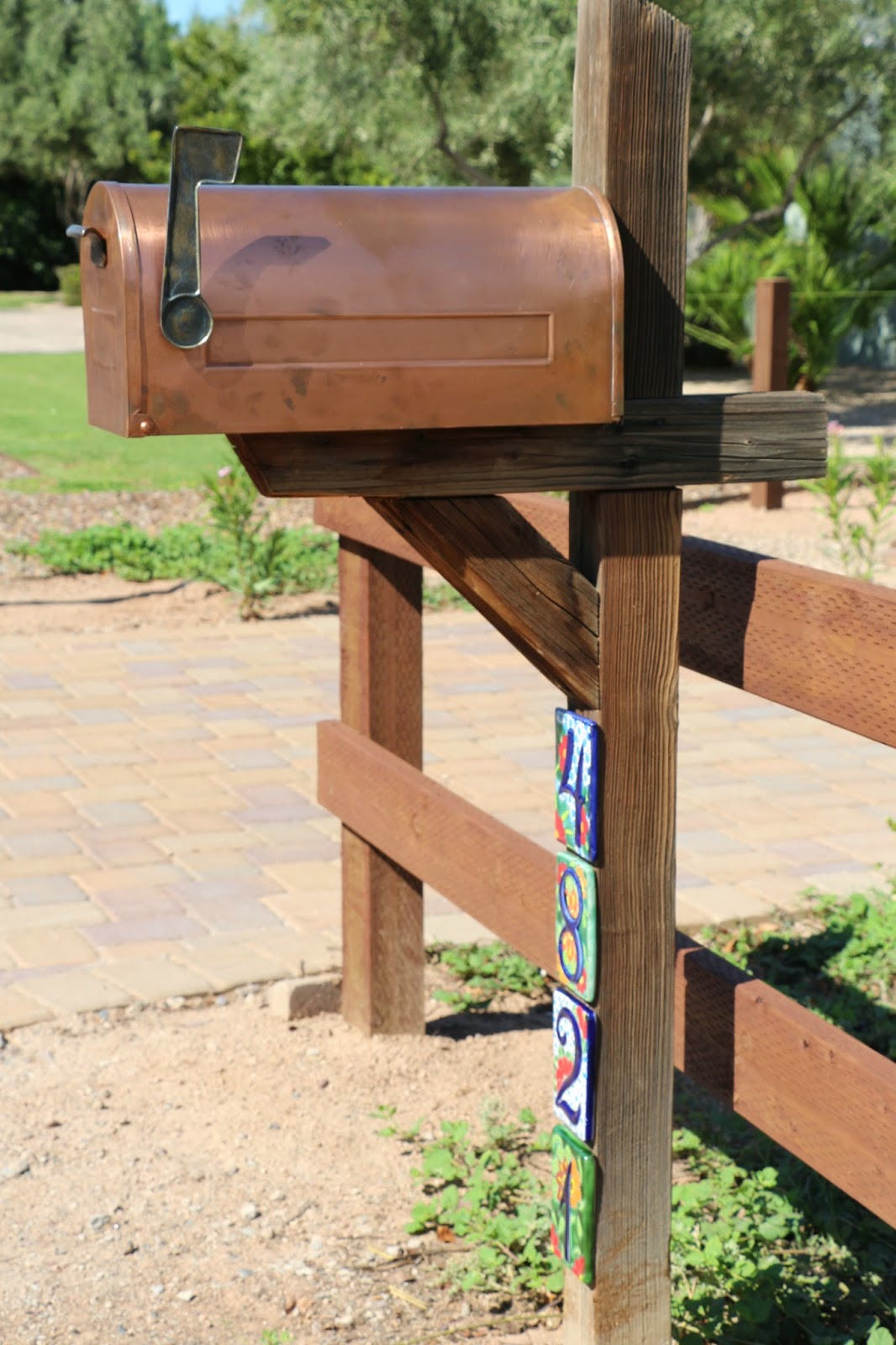 copper mailbox, cool mailbox, mailbox ideas