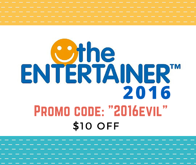PROMO CODE: Entertainer 2016 Singapore Review