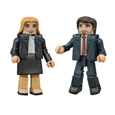 """Revival"" The X-Files Minimates 2 Pack by Diamond Select Toys - Agent Mulder & Agent Scully"