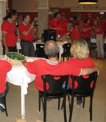 Após o almoço no restaurante do mirante, as tradicionais comunicações de Walter Arruda, presidente do Clube MP Lafer Brasil.