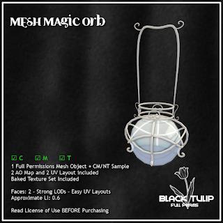 [Black Tulip] Mesh - Magic Orb
