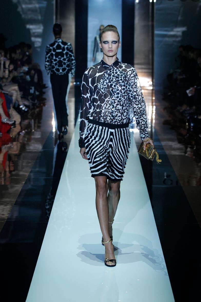 Milan fashion week gucci spring 2012 for Gucci milan fashion week