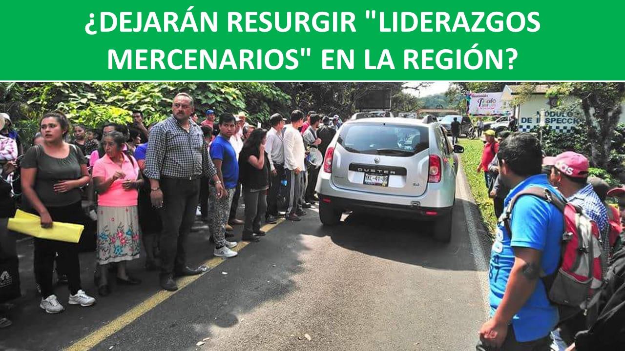 """""""LIDERAZGOS MERCENARIOS"""" EN LA REGIÓN?"""