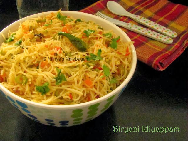 Biryani Idiyappam | Biryani Sevai