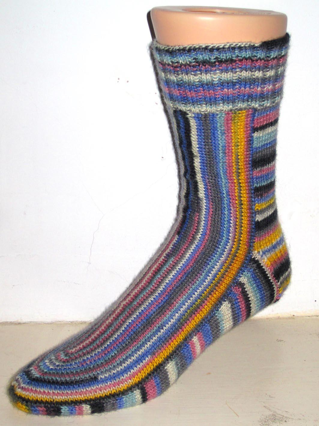 Вертизонтальные носки