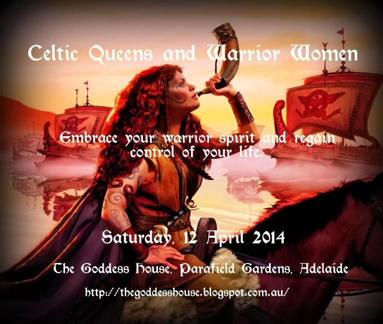 Celtic Queens and Warrior Women (12 April)
