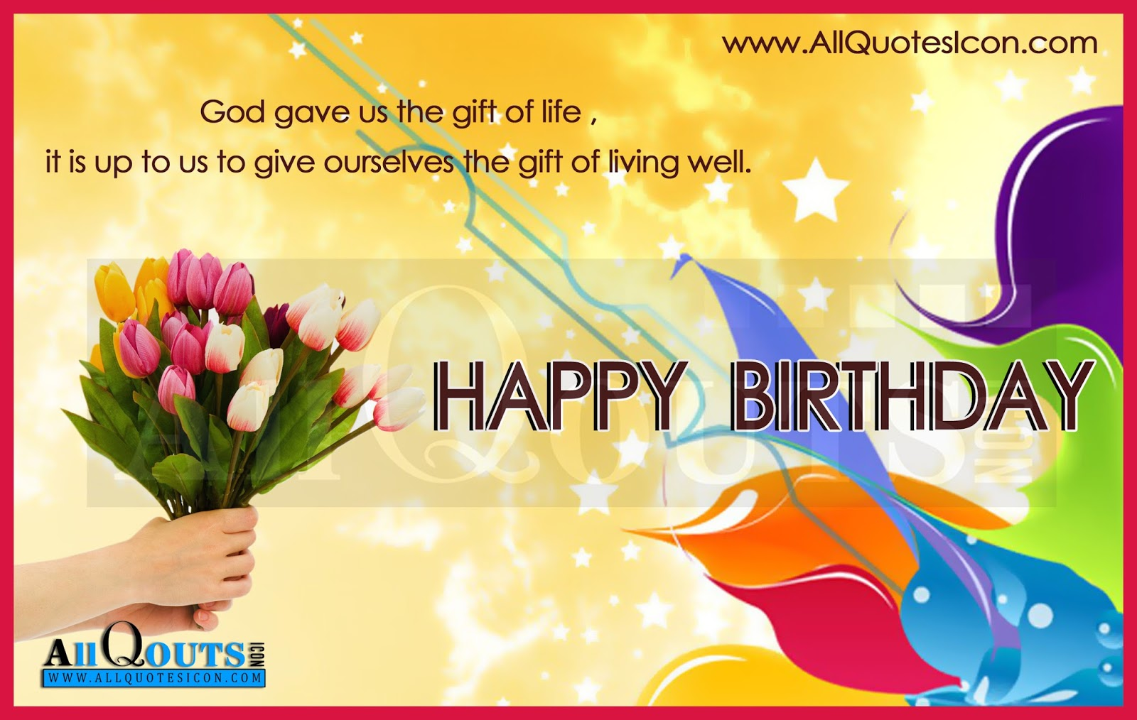 Happy Birthday Quotes English ~ Happy birthday quotes and images best greetings english