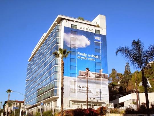 Giant My Cloud WD billboard