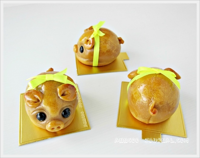 Handmade Piggy Mooncakes ???? Anncoo Journal - Come for ...