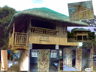 Philippine Native House Design Bamboo http://abaliba.blogspot.com/2012/03/bamboo-house-nipa-hut-and-furniture.html