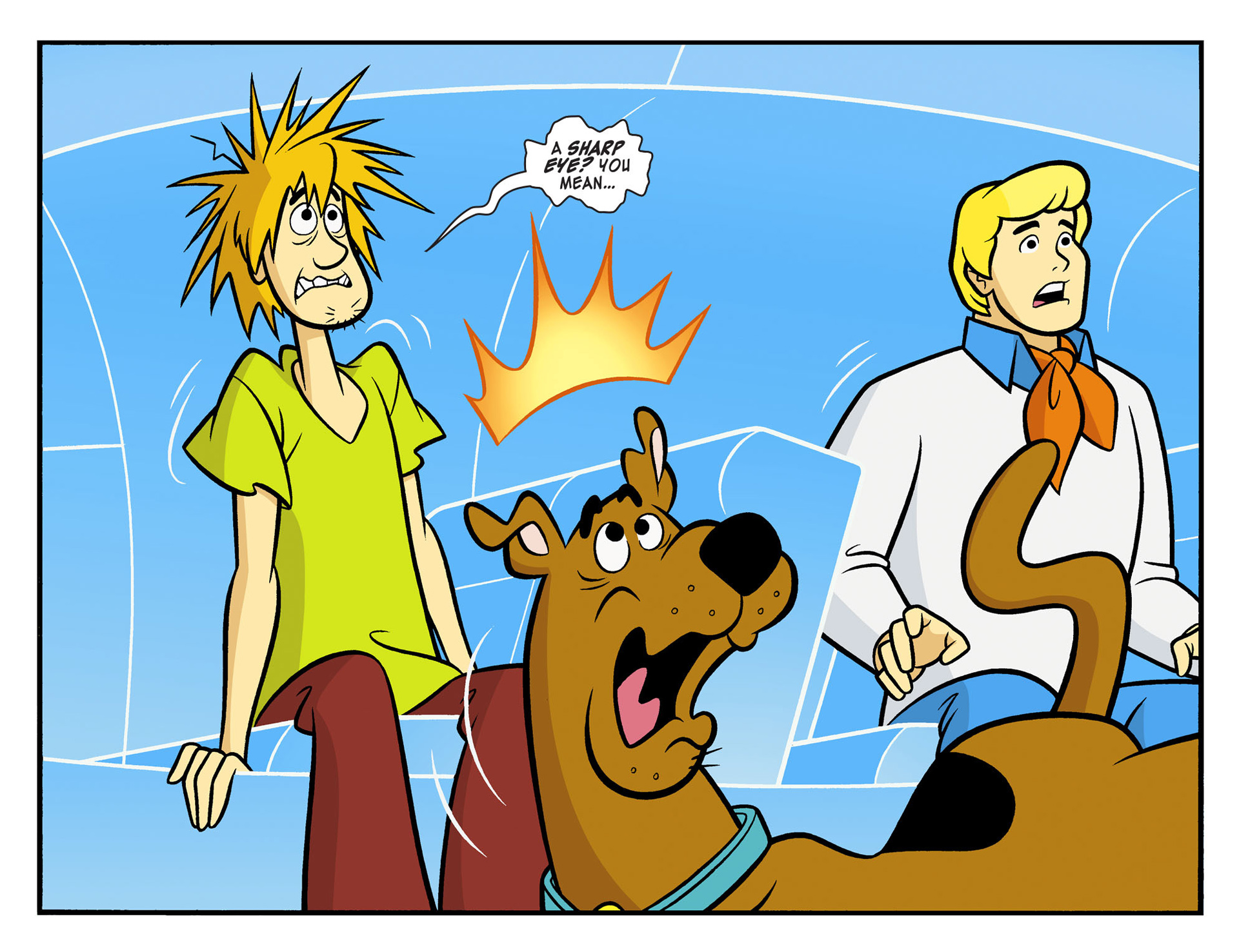 Read online Scooby-Doo! Team-Up comic -  Issue #9 - 21