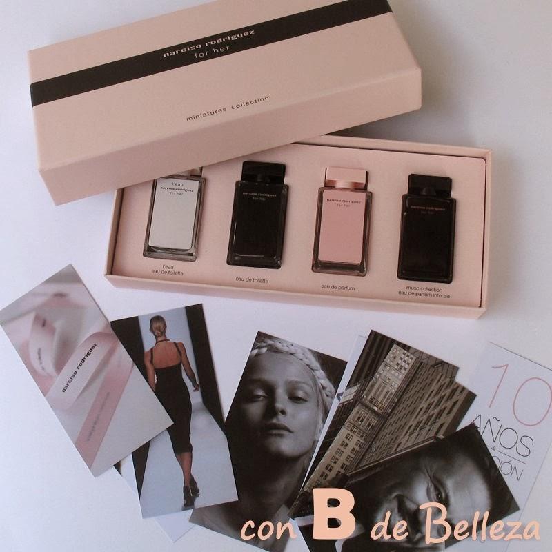 Miniaturas perfume Narciso Rodriguez