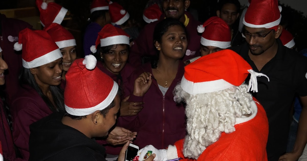 gibs business school bangalore gibs students celebrated christmas gibs campus