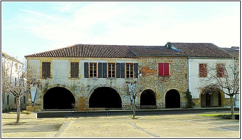 Geaune, bastide landaise