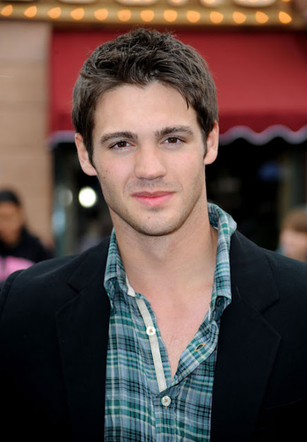 sexy actor Steven R McQueen from The Vampire Diaries