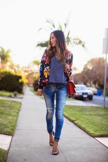 Strappy sandals untuk skinny jeans