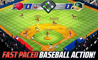 Screenshots of the MLB Big Stars Baseball for Android tablet, phone.