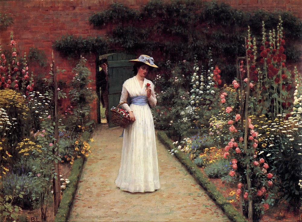 blair leighton lady garden